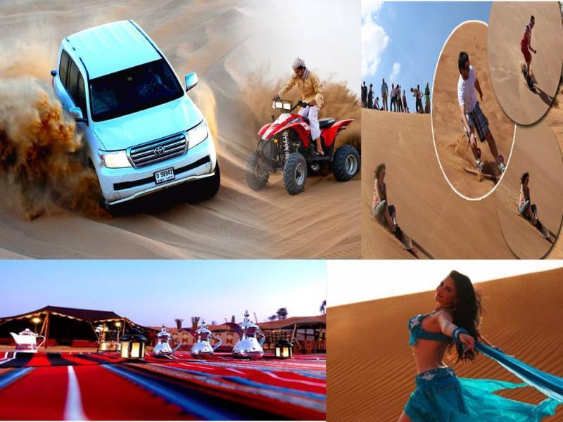All types of Desert Safari are available locally in RAK....