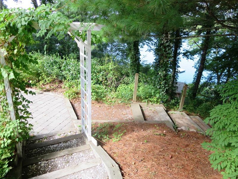 Steps to your private waterfront spot on Lake Waquaquet .. - 21 Beechwood Road Centerville Cape Cod New England Vacation Rentals