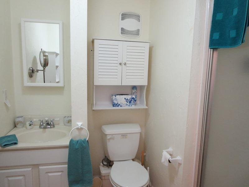Bathroom on the lower level with a shower - 21 Beechwood Road Centerville Cape Cod New England Vacation Rentals