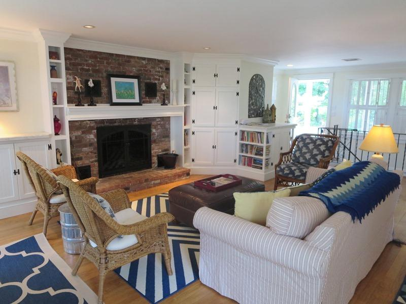 Flat screen TV in the corner cabinet and WiFi too! - 21 Beechwood Road Centerville Cape Cod New England Vacation Rentals