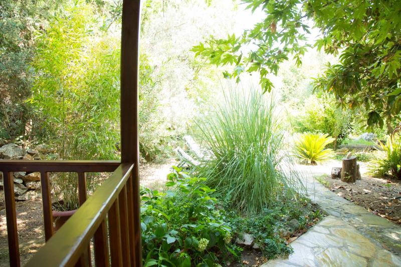 Vista dalla terrazza bungalow