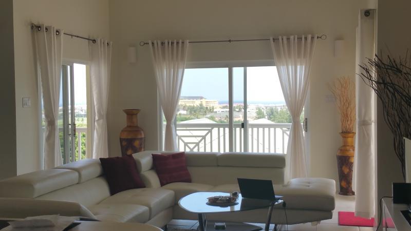 Vista de sala de estar