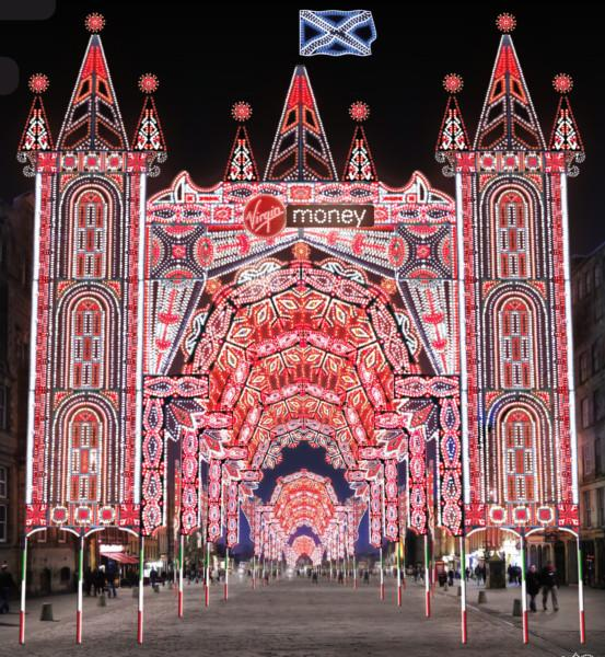 The Royal Mile will be lit up this Christmas