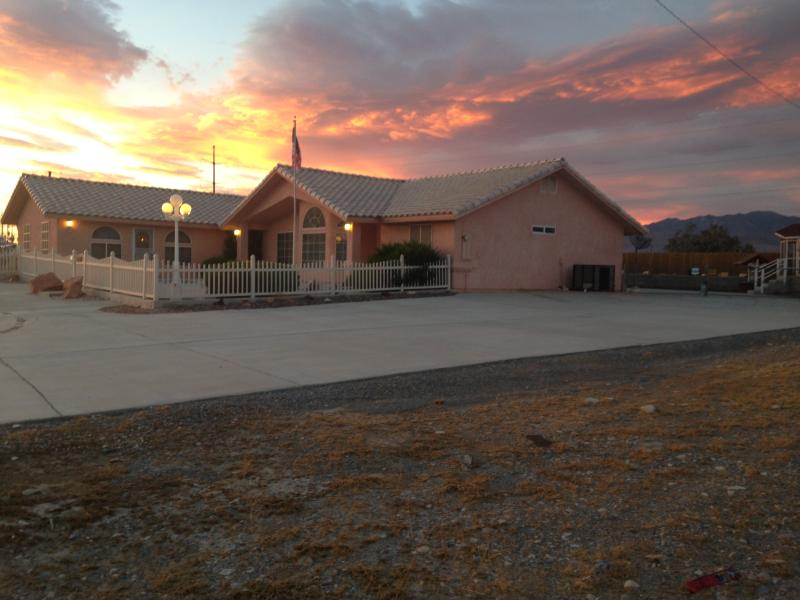 Front of the House, Lots of Parking and Privacy, 3 RV's can fit on our Property