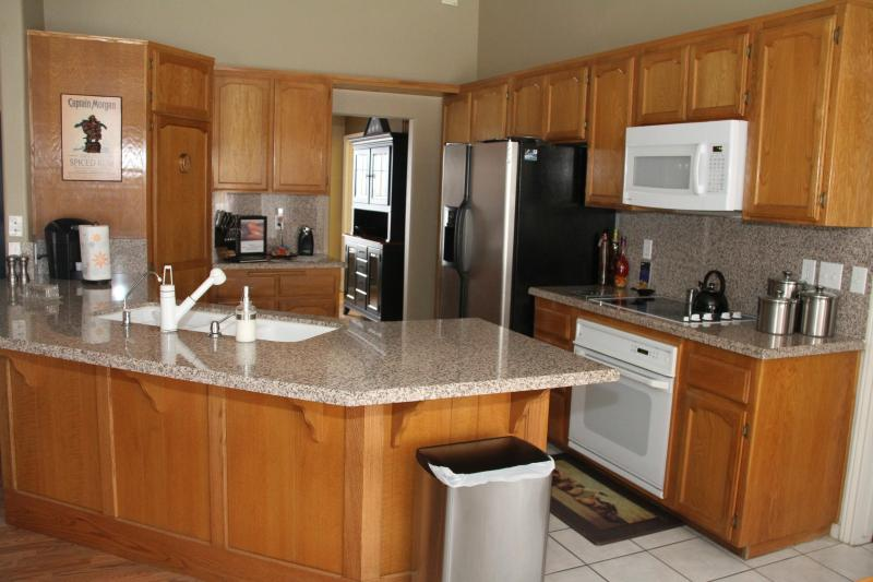Kitchen w/Full Spice Cabinet and Full Amenities
