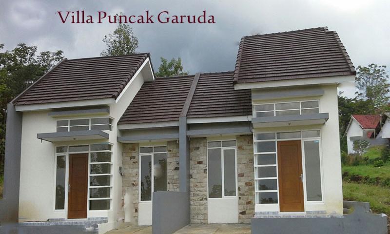 Two units Puncak Garuda villa side by side