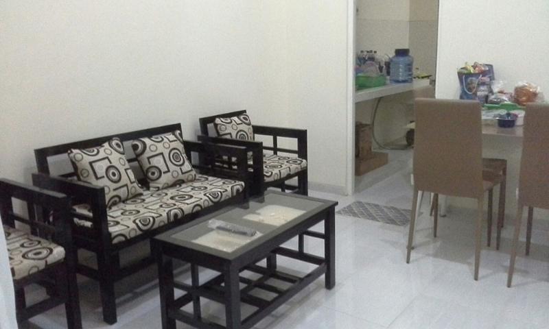 Livingroom in Puncak Garuda villa