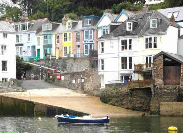 Old slipway, crabbing and fishing activities