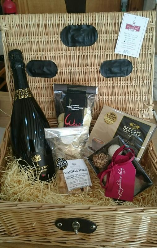 Hampers from local farm shop available to purchase and delivered to cottage for your arrival
