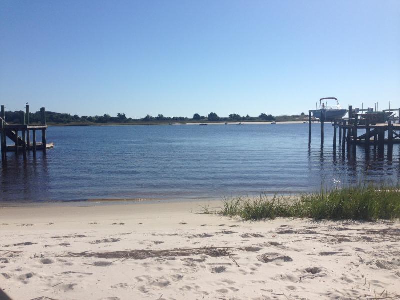 Otra vista de la playa perfecta natación punto.
