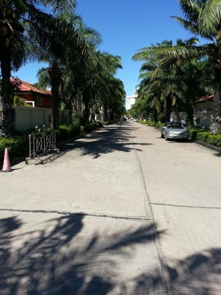 Main road in the resort, leading from the security gate to our home, turn right before Office of VTV