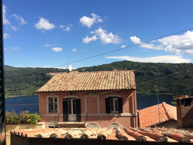 Panorama dalle finestre di casa