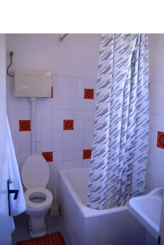 Ruza (2+1): bathroom with toilet