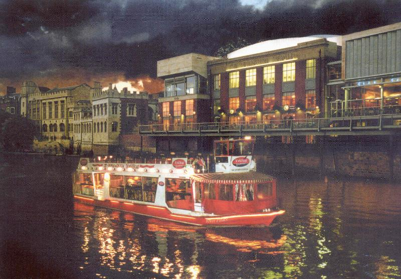 Night cruise on the River Ouse