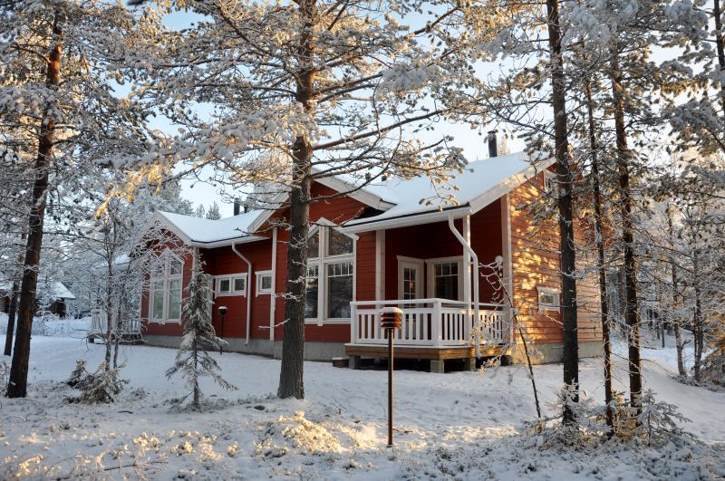 LevinSatu: SeLevi Winter Terrasse
