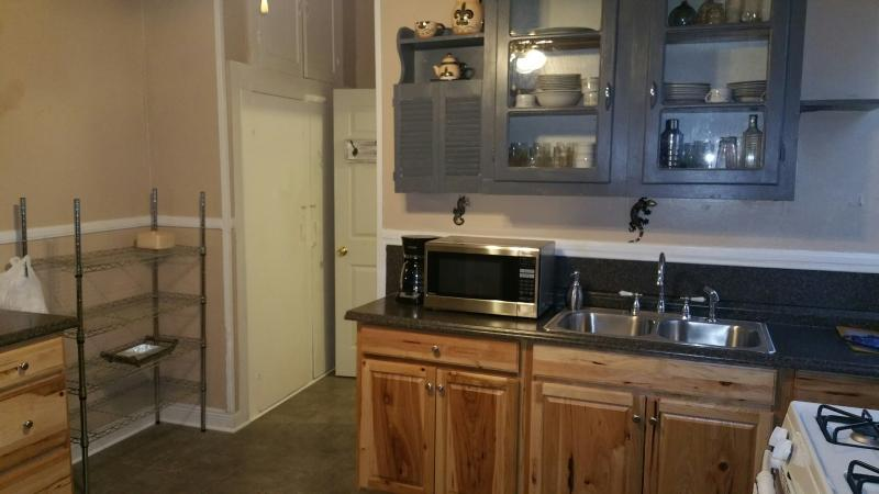 Kitchen area just redone