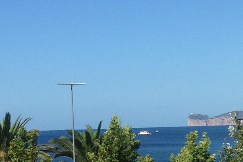 View from Balcony towards Capo Caccia