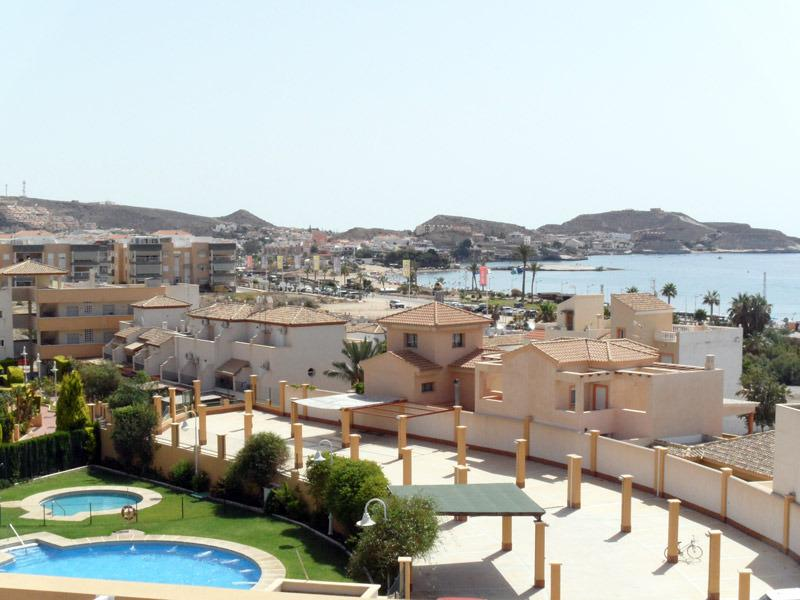 Costa Serena 402A - Large apartment with sea views, 1 minute walk to beach., holiday rental in San Juan de los Terreros