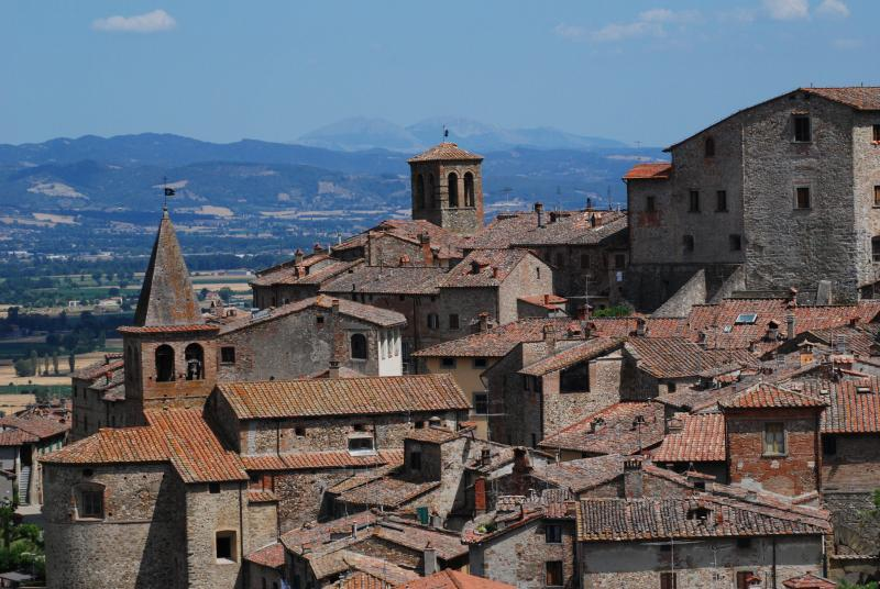 The historic centre of Anghiari