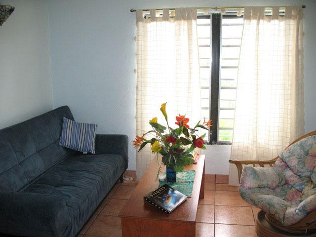 Living room (with AC)