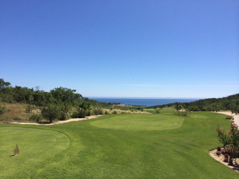 Una delle meravigliose aree verdi presso i molti campi da golf resort di zona