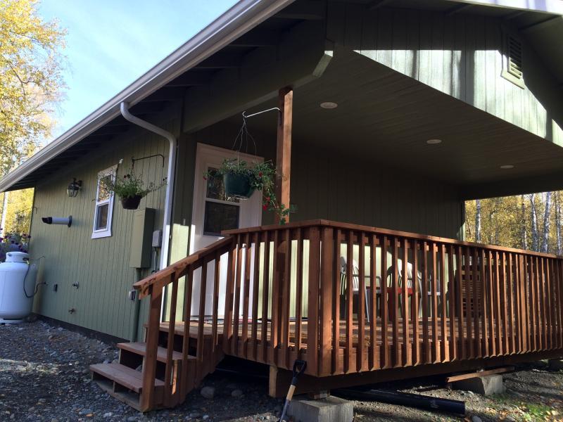 Birch View Cabin Vacation Rental, location de vacances à Sunshine