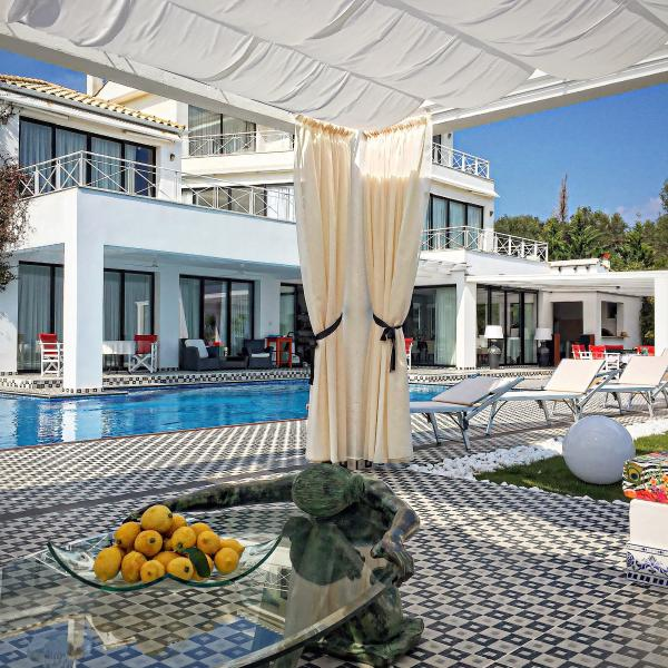 Blue Sea Villas , the ultimate luxury in Corfu, vacation rental in Pyrgi