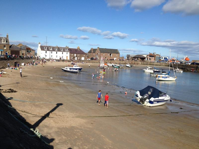 Summers day in Stonehaven - view from property