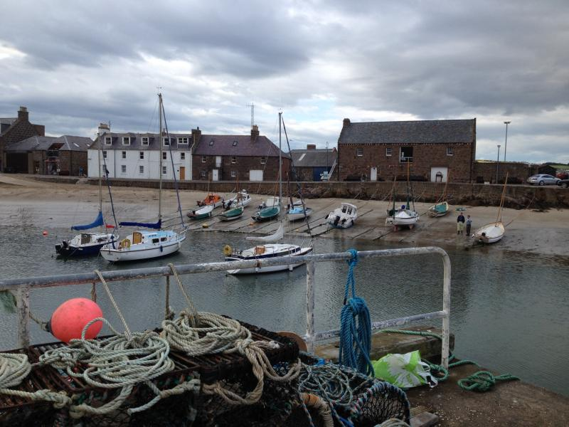 Idyllic harbour location