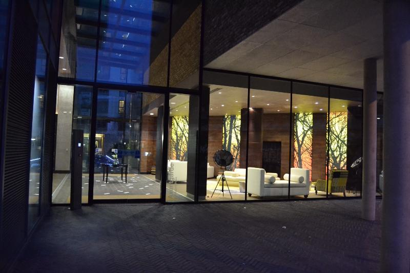 Lobby view from Sclater Street