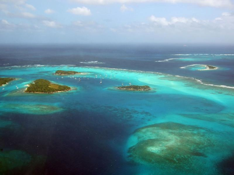 Tobago Cays and horse shoe reef a big must when visiting Carriacou.
