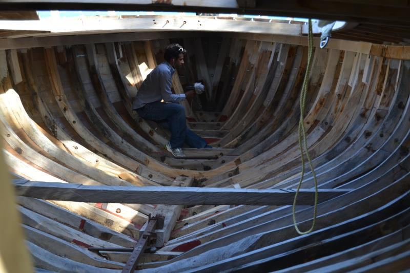 Windward is famous for their boat builders. A tradition that has been on the island since generation