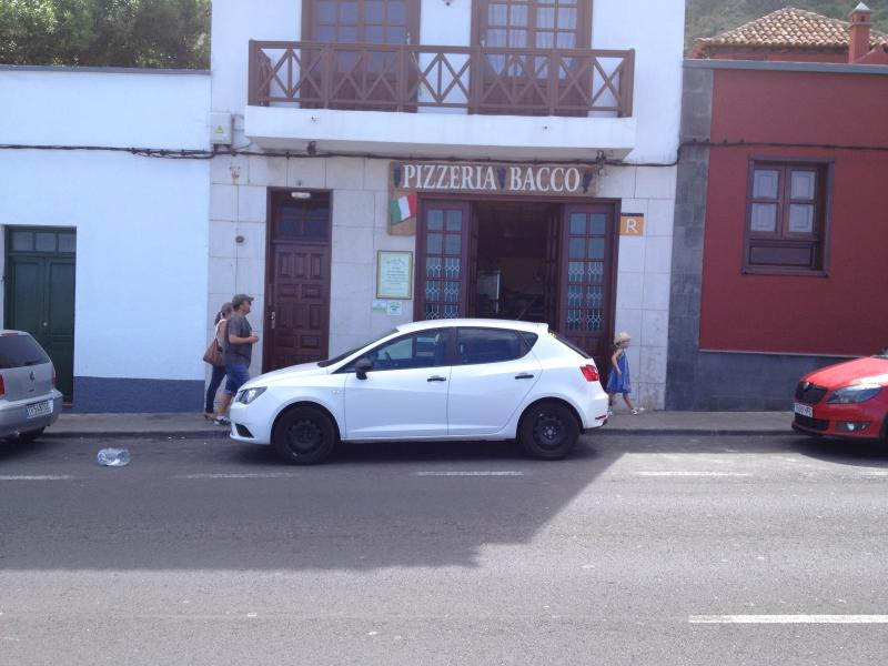 Garachico Pizza place, the best in Tenerife! :)