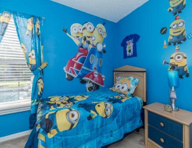 Just Decorated !! Minion Themed room