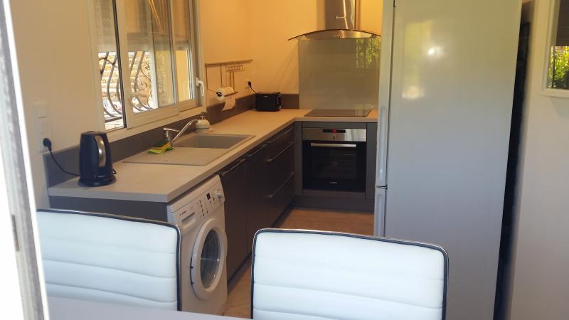Modern kitchen - washing machine