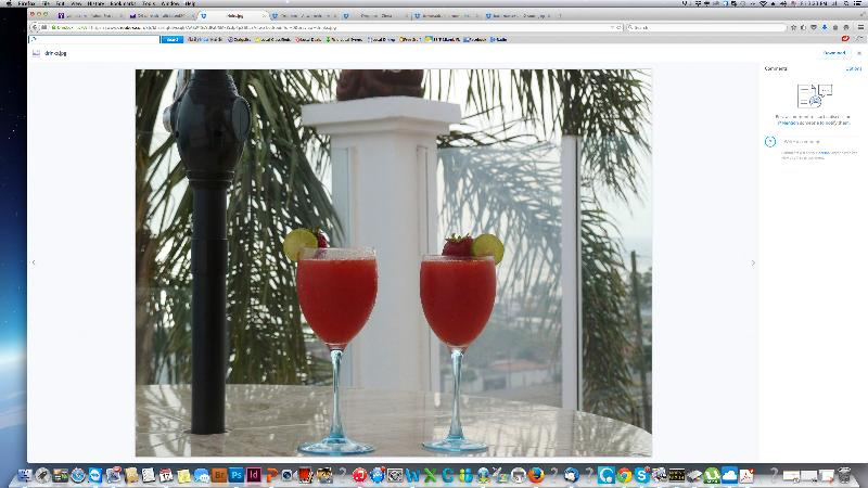 Have a BBQ and drink margaritas on the terrace while enjoying  the ocean view and amazing sunsets..