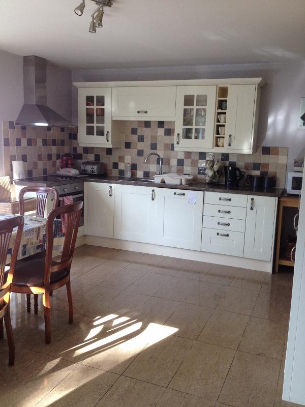 Open Plan Kitchen & Dining Area