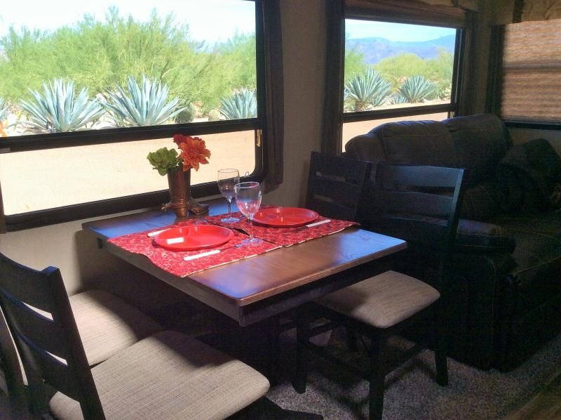 great views out your dining room table
