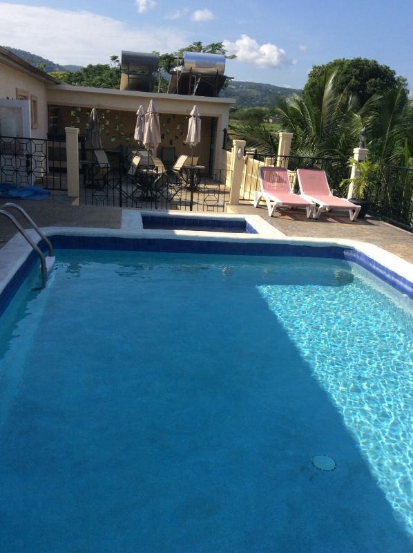 Pool & Patio on 2nd floor