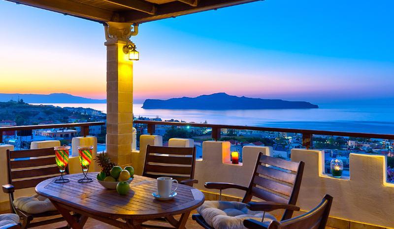 Thodorou Sunset Villa, location de vacances à Stalos