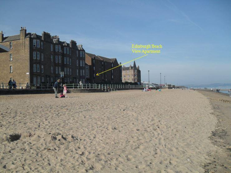 Edinburgh Beach View Apartment ~ 2 bedroom, alquiler vacacional en Edimburgo