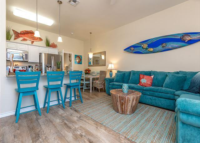 Brand-New Townhome w/ Ocean Views - Walk to Beach, vacation rental in Corpus Christi