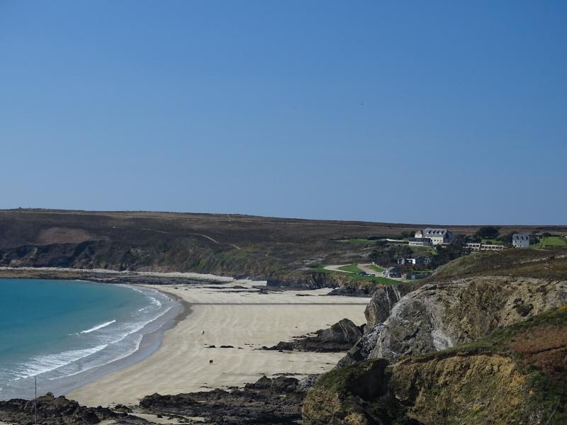 Coastal path overlooking Veryach beach, Camaret (15 mins away)