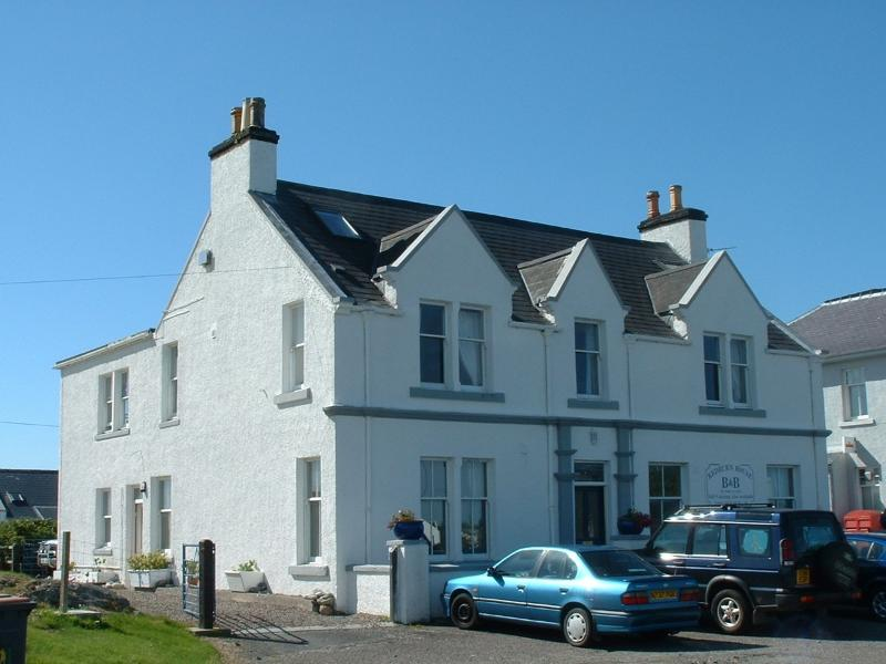 Redburn House has commanding views accross the bay,