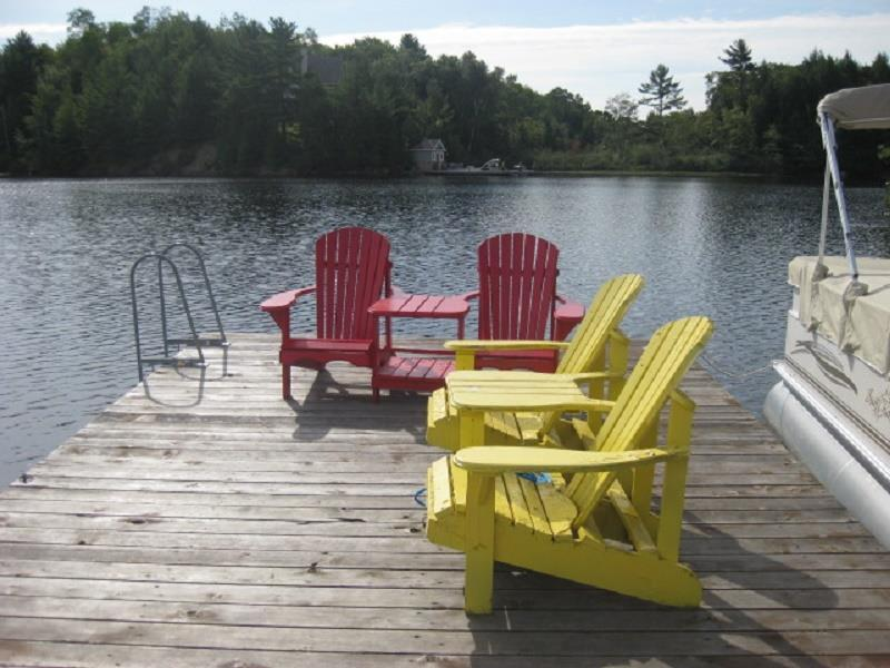 Bass Lake Retreat, holiday rental in Seguin Township