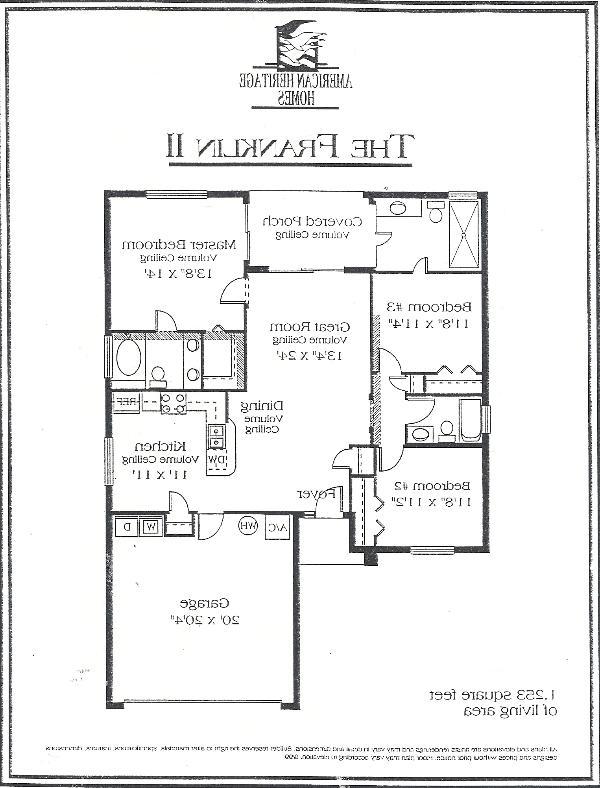 Reverse floor plan exact replica of our villa with Double garage to Left