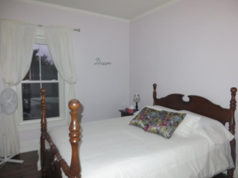Queen bed with built in