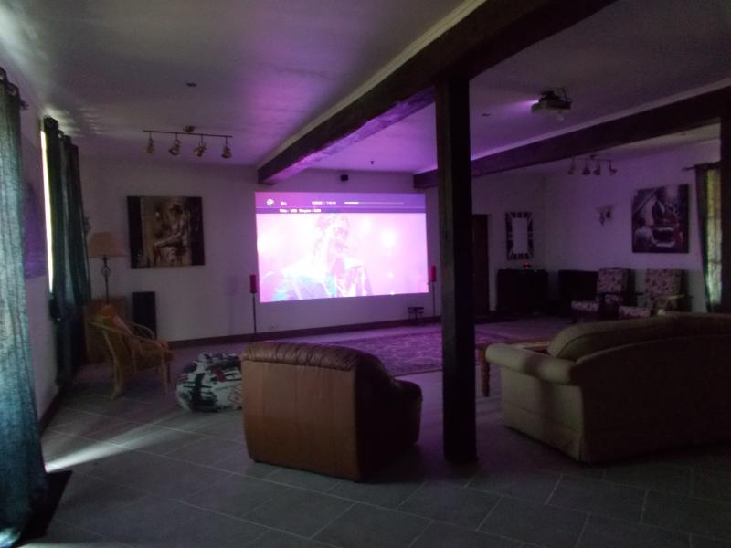 cinema room , used with the function room , weddings etc .(85m2)