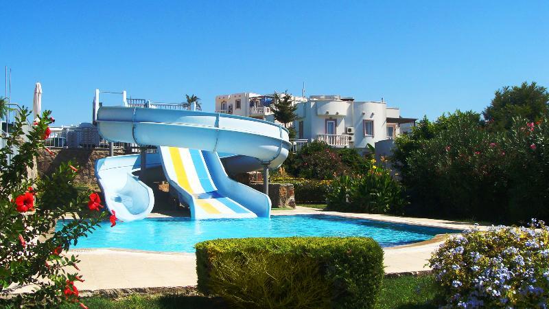 Sie können alle Einrichtungen des Ferienkomplexes Aquapark nutzen