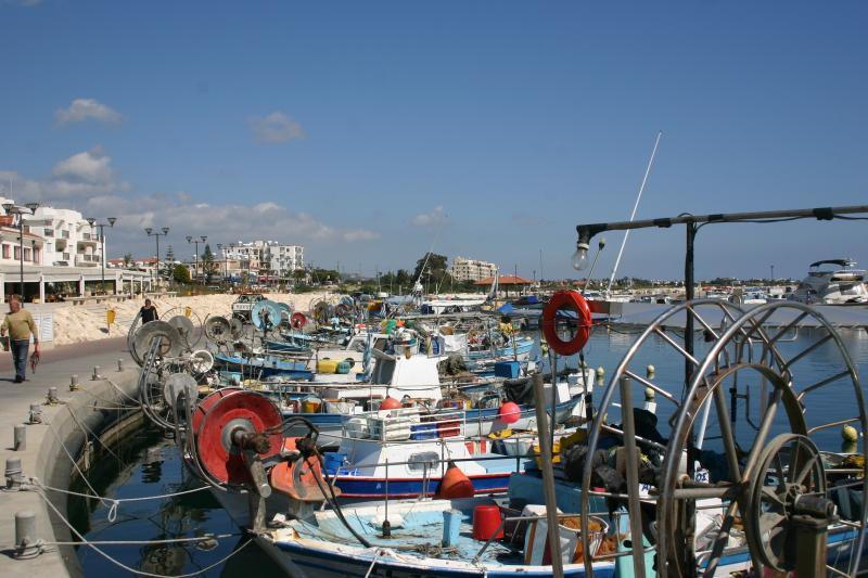 Zygi fishing village and marina